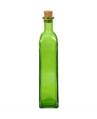 Green Rectangle Cruet