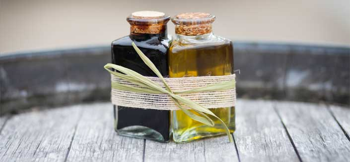 Olio oils and vinegars can make a great wedding favor.